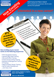 Interested in a New Career? Let Pitman Training Kerry help you